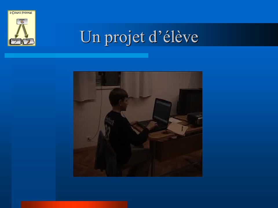 Un projet d'élève