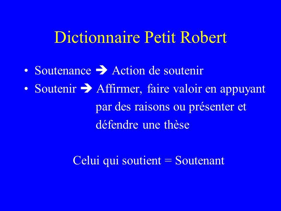 Dictionnaire Petit Robert