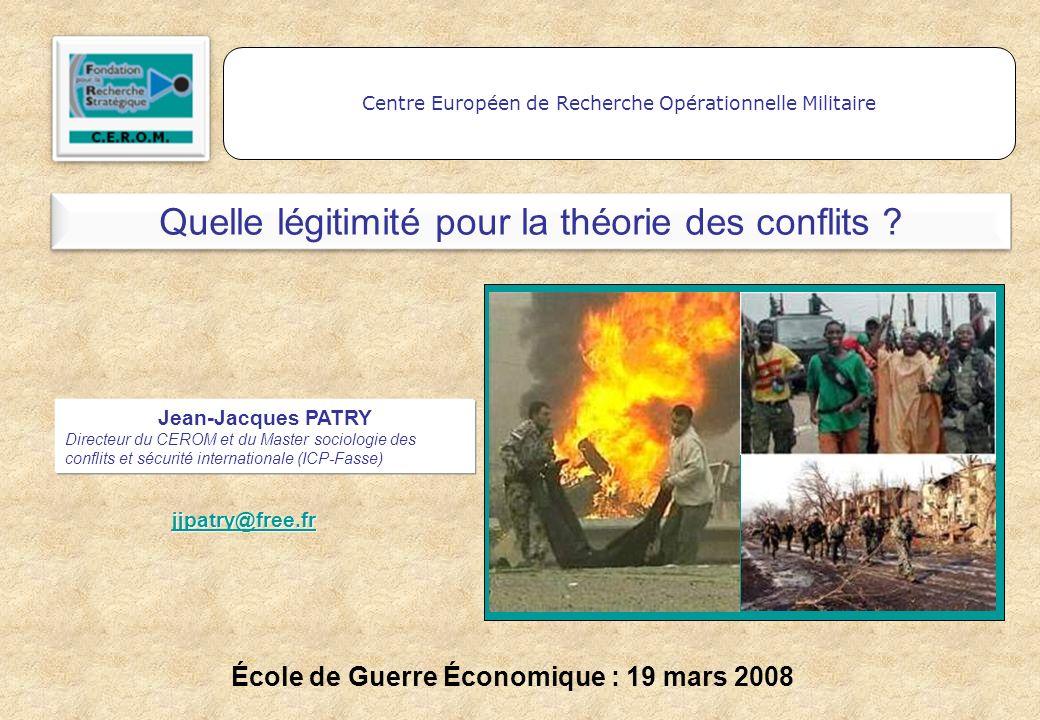 École de Guerre Économique : 19 mars 2008