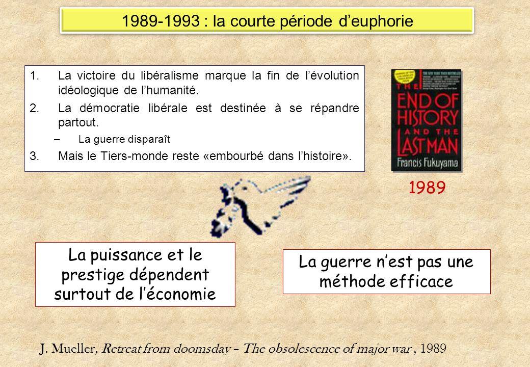 1989-1993 : la courte période d'euphorie