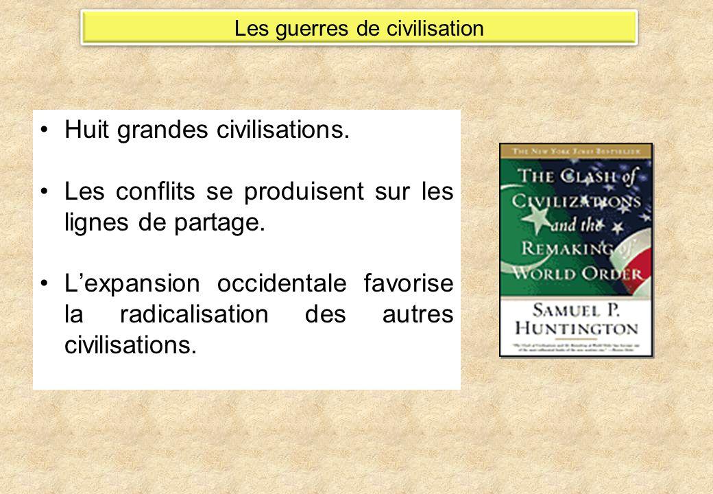 Les guerres de civilisation