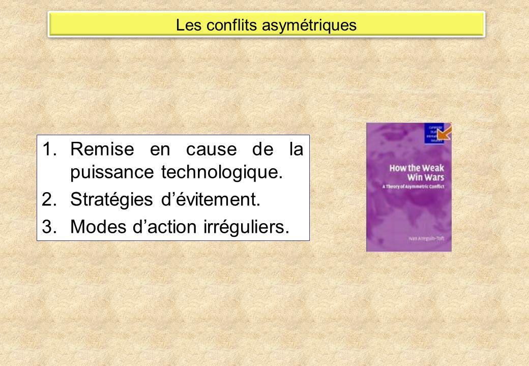 Les conflits asymétriques