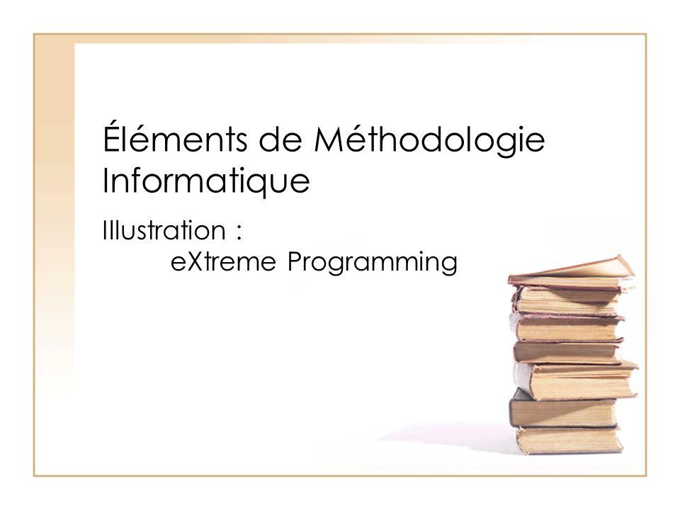 Éléments de Méthodologie Informatique