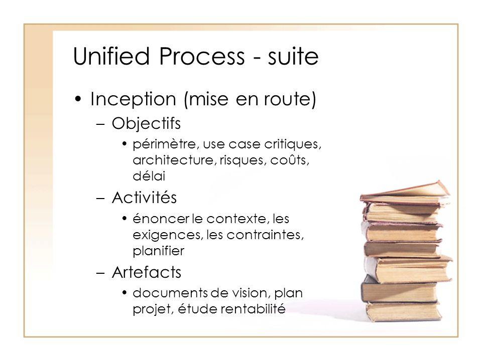 Unified Process - suite