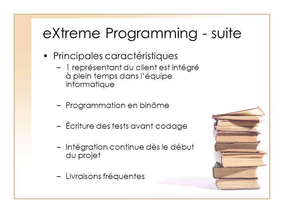 eXtreme Programming - suite