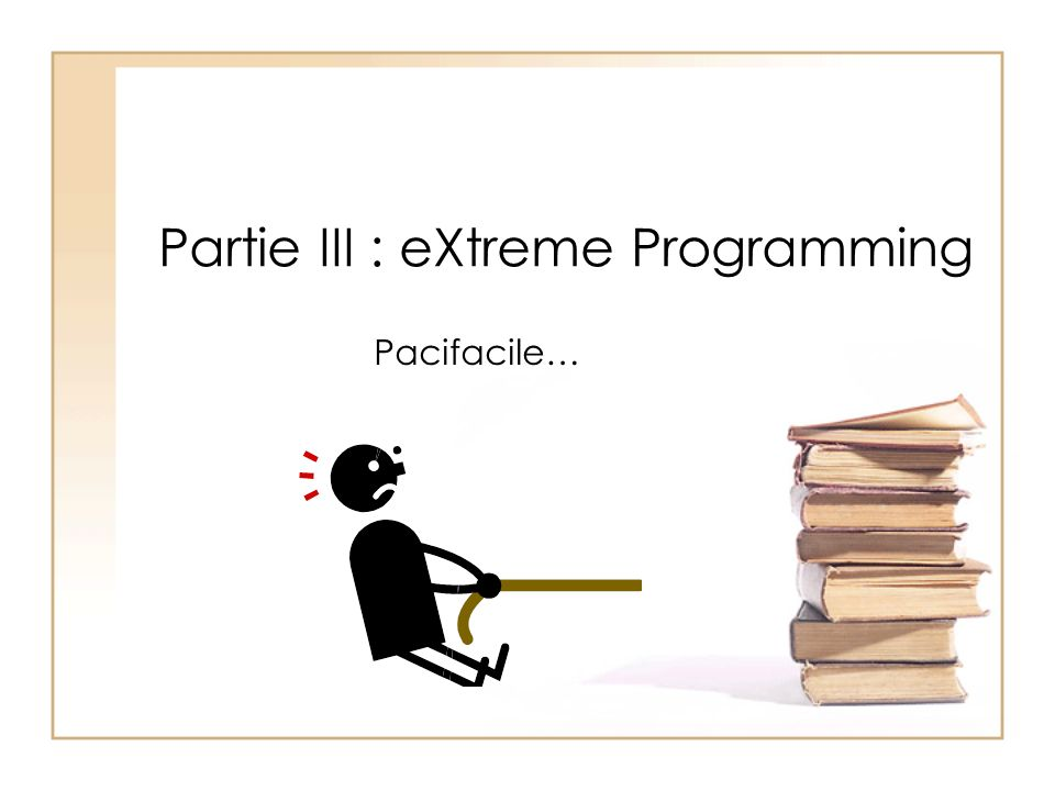 Partie III : eXtreme Programming
