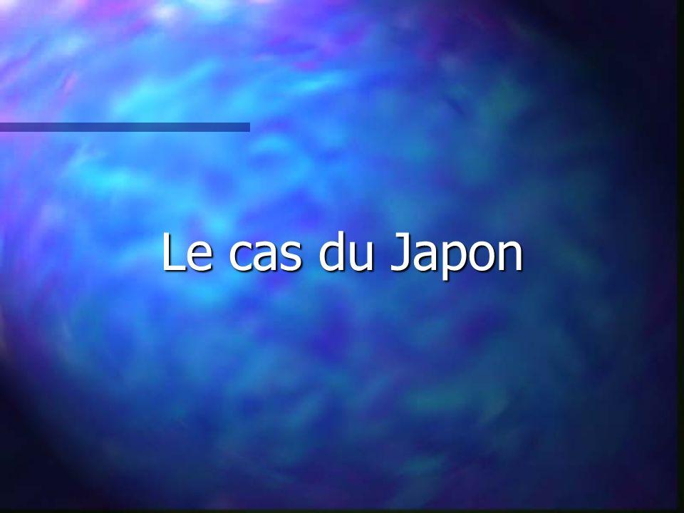 Le cas du Japon
