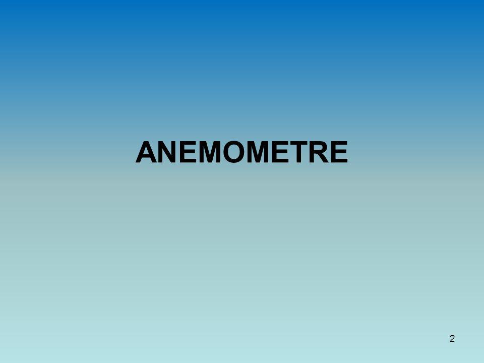ANEMOMETRE