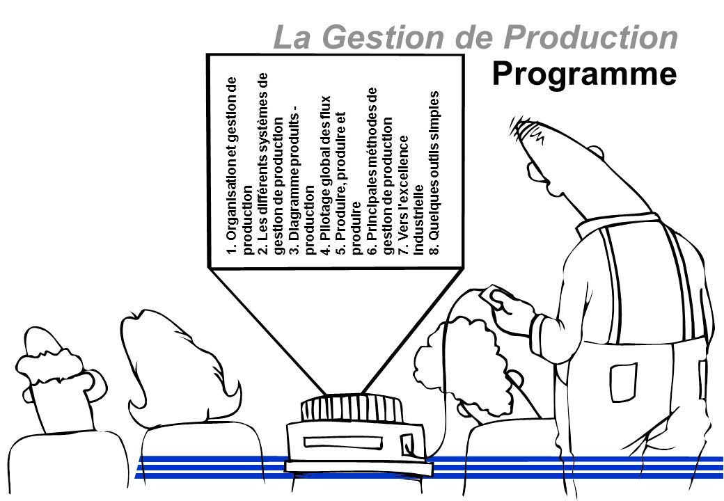 La Gestion de Production Programme