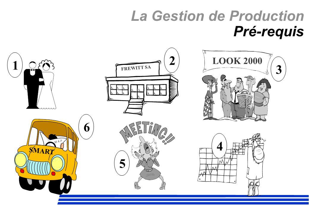 La Gestion de Production Pré-requis