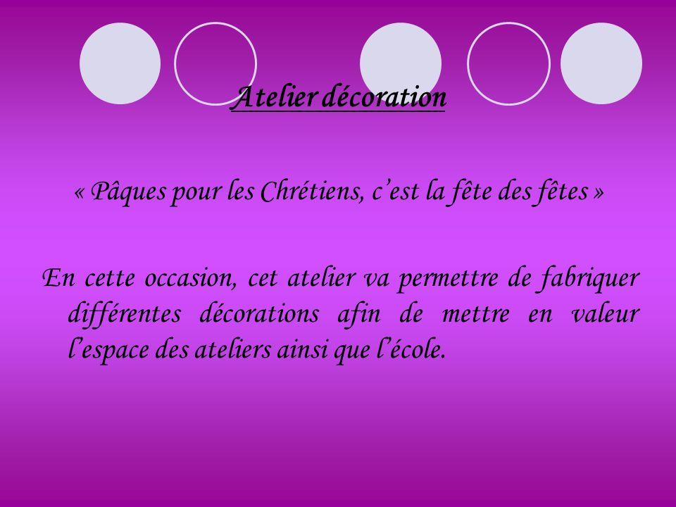 « Pâques pour les Chrétiens, c'est la fête des fêtes »