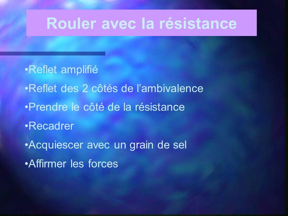 Rouler avec la résistance