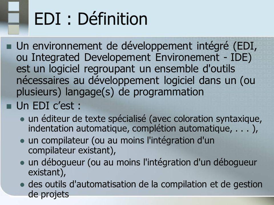 EDI : Définition