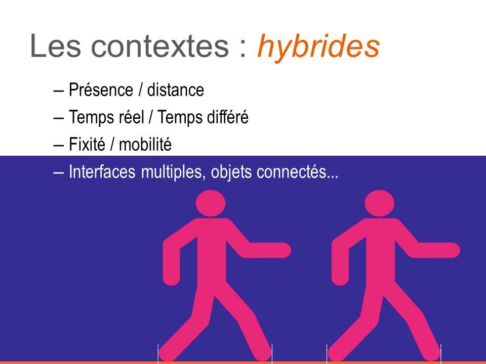 Les contextes : hybrides