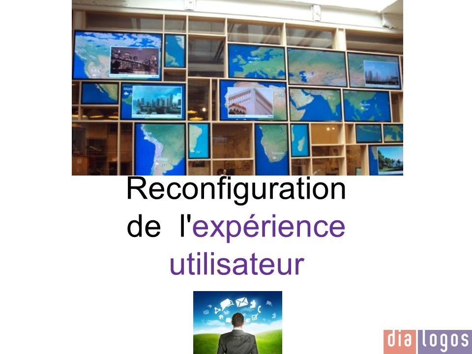Reconfiguration de l expérience utilisateur