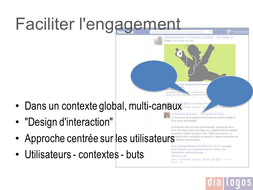 Faciliter l engagement