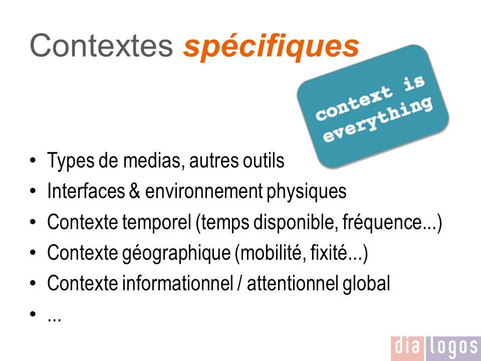 Contextes spécifiques