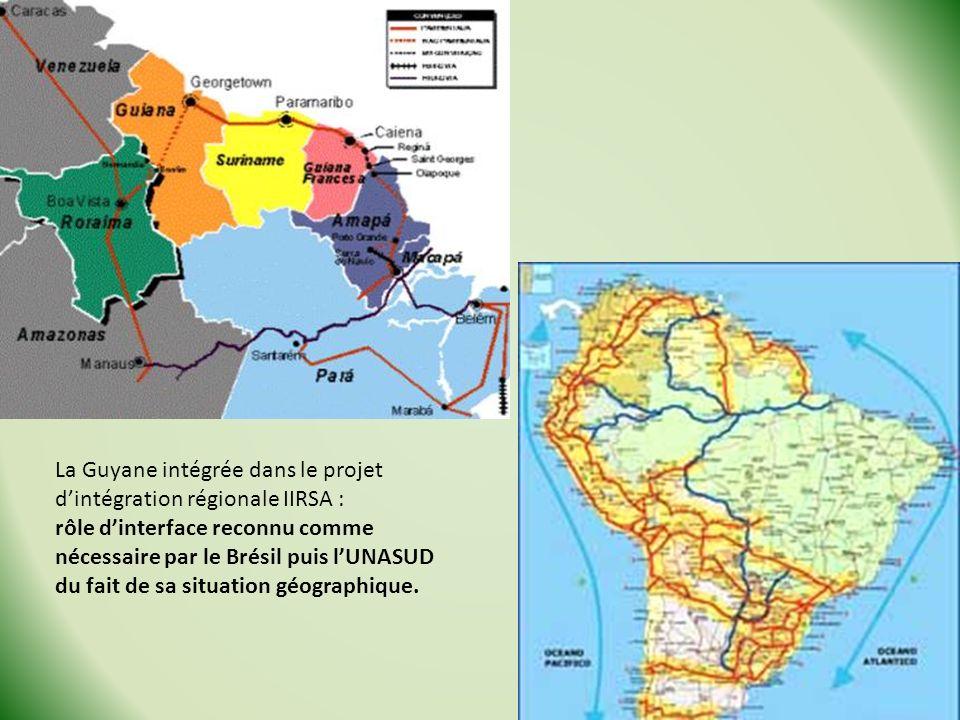 La Guyane intégrée dans le projet