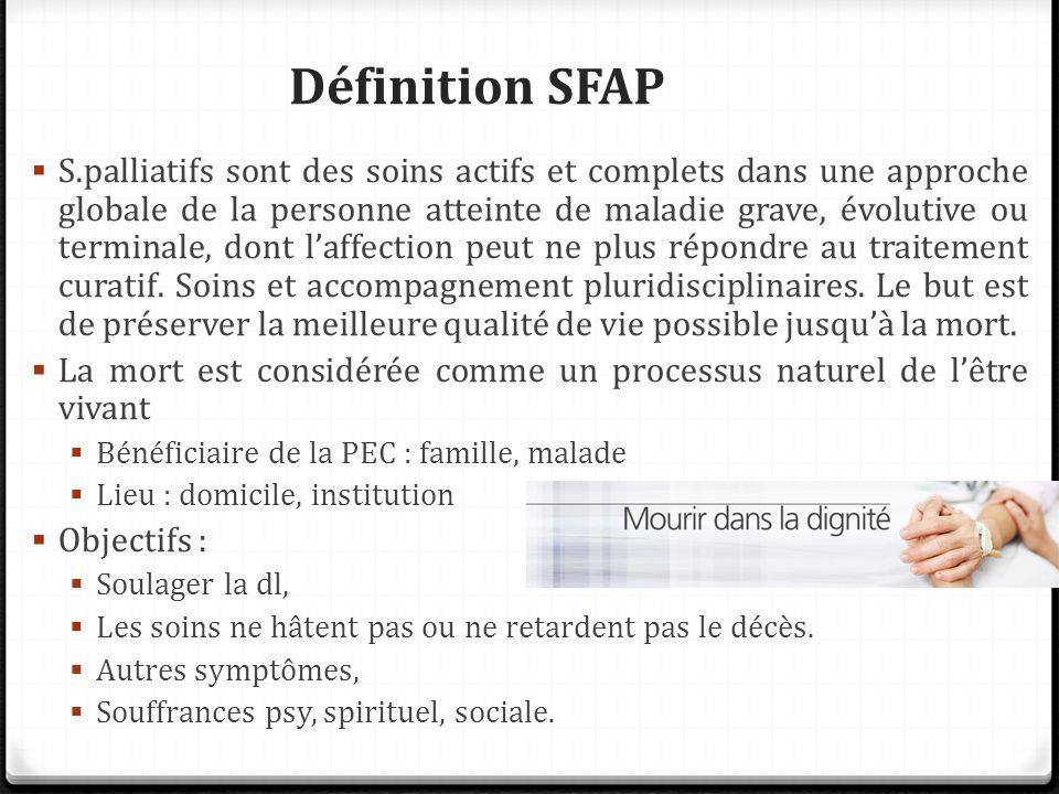 Définition SFAP