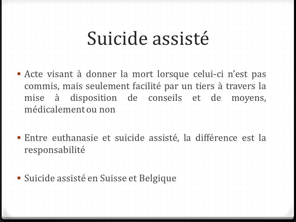 Suicide assisté