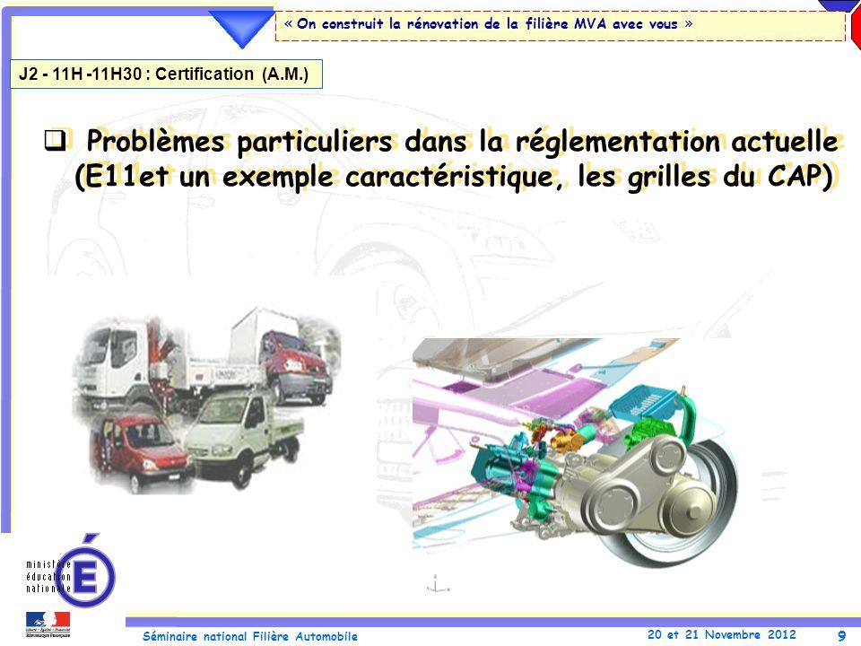 J2 - 11H -11H30 : Certification (A.M.)