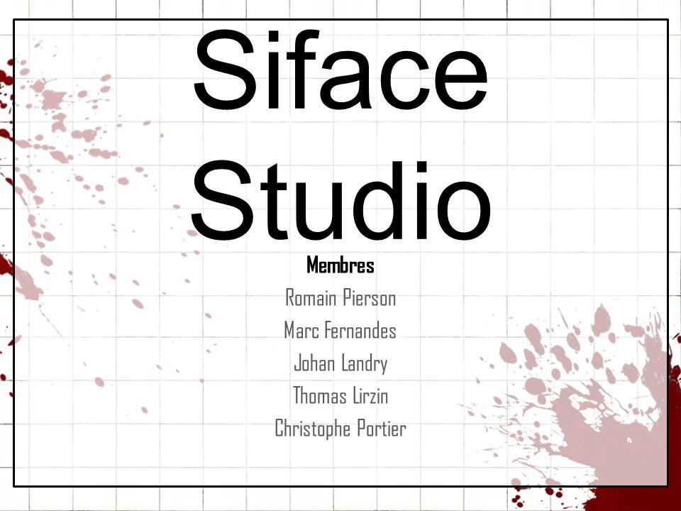 Siface Studio Membres Romain Pierson Marc Fernandes Johan Landry
