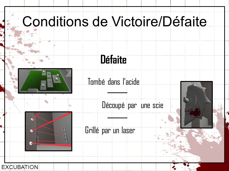Conditions de Victoire/Défaite