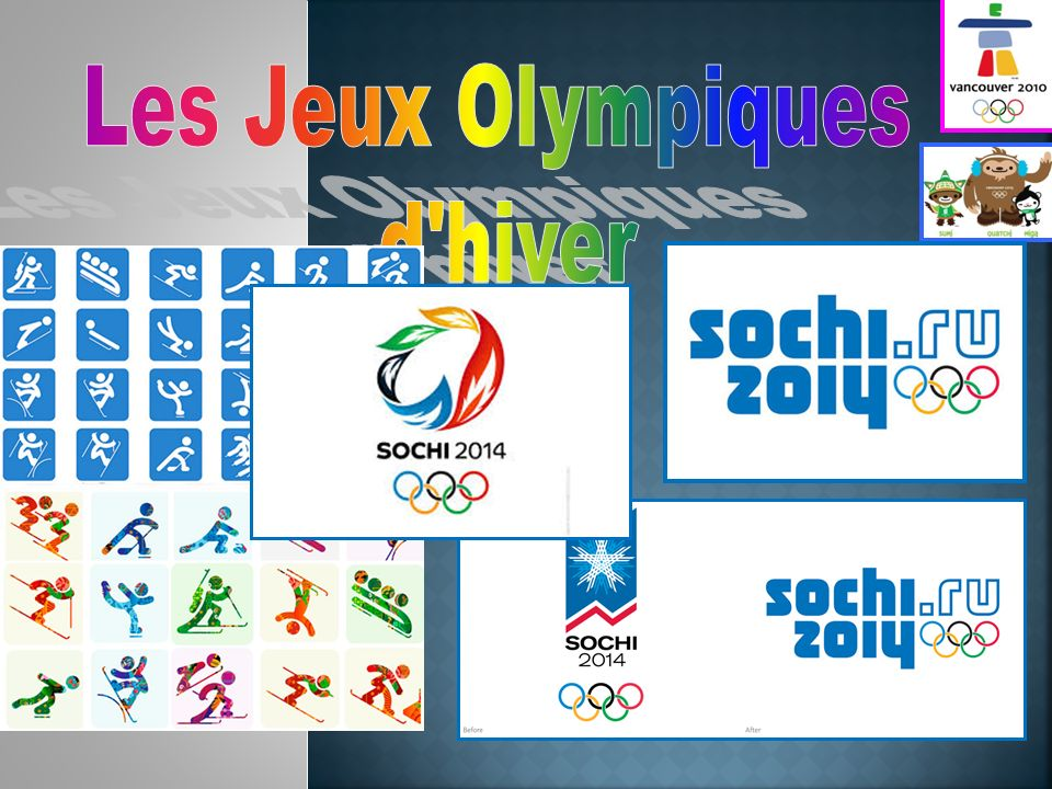 Les Jeux Olympiques d hiver