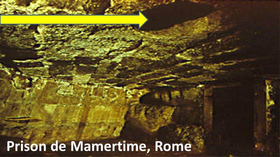 Prison de Mamertime, Rome
