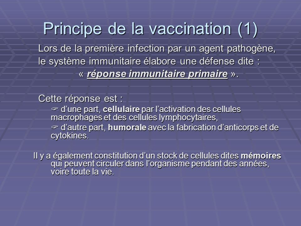 Principe de la vaccination (1)