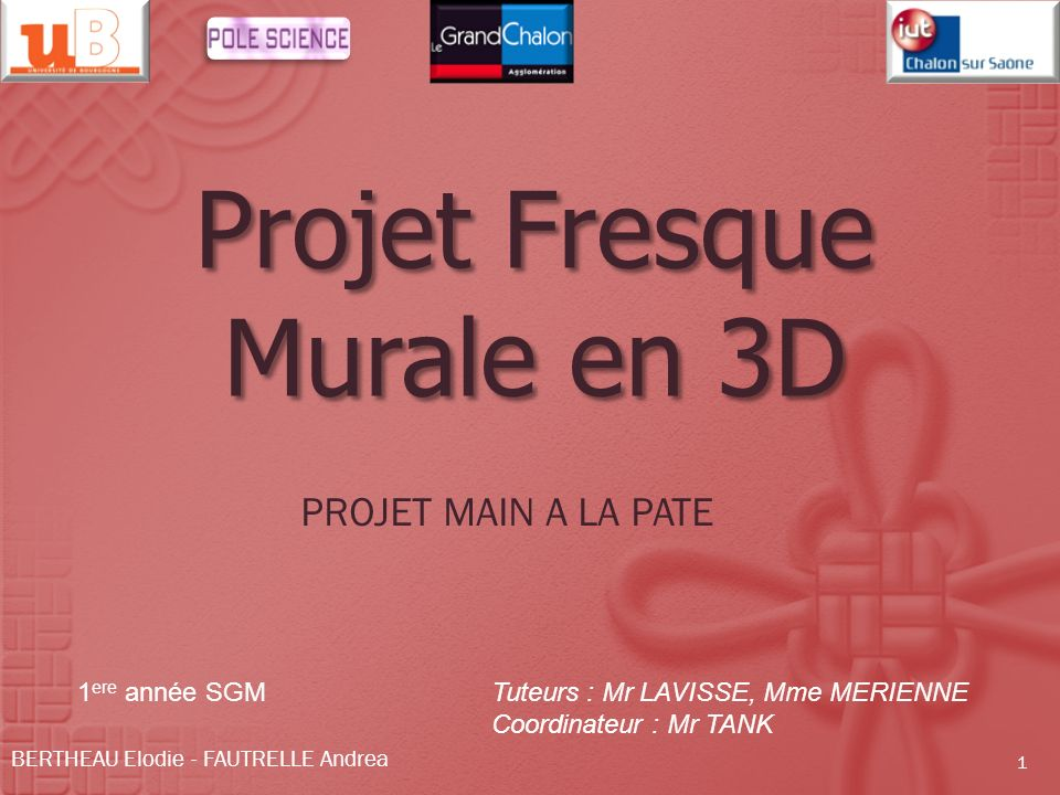 Projet fresque murale en 3d ppt video online t l charger for Fresque murale definition