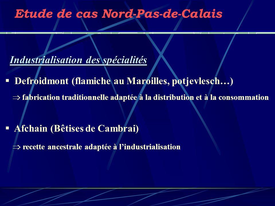 Etude de cas Nord-Pas-de-Calais