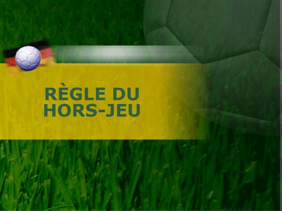 RÈGLE DU HORS-JEU