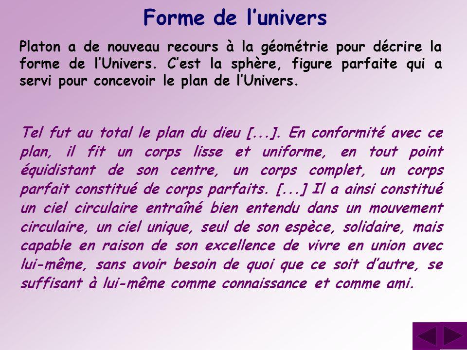 Forme de l'univers
