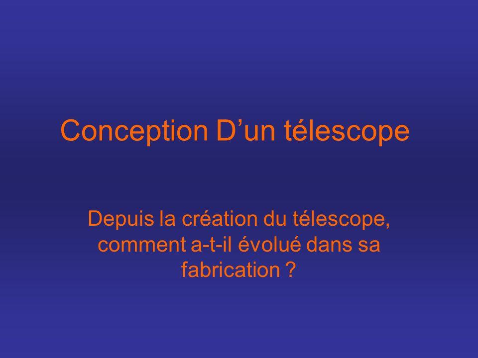 Conception D'un télescope