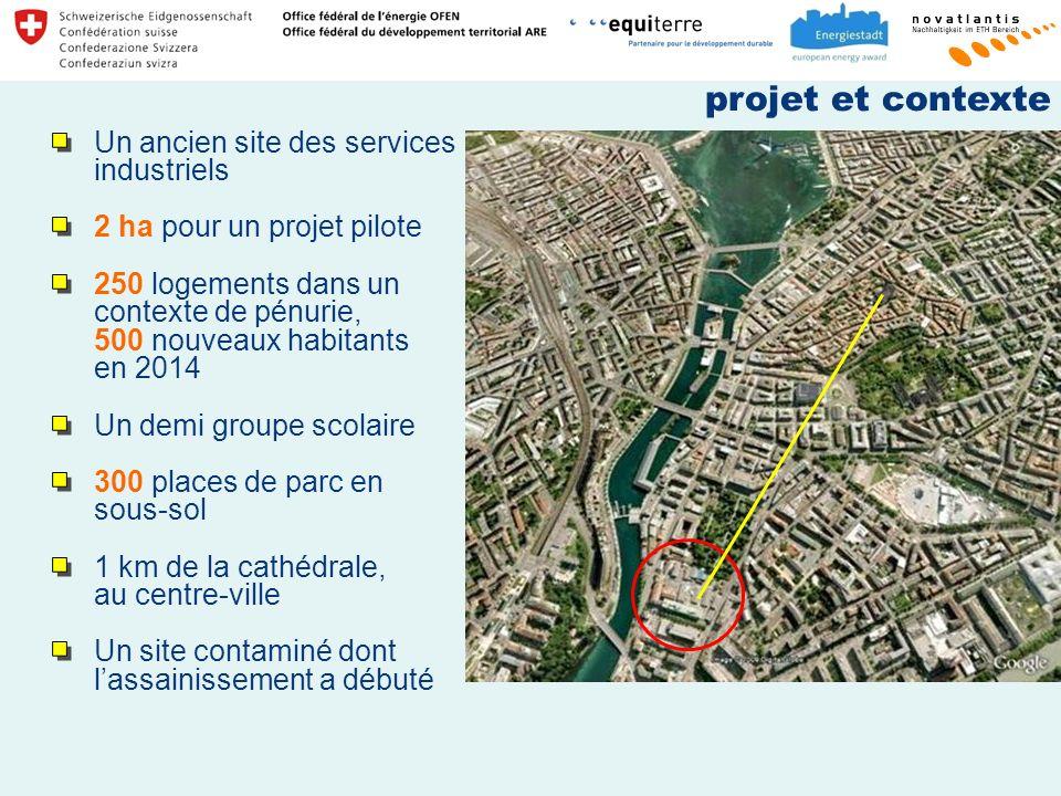 projet et contexte Un ancien site des services industriels
