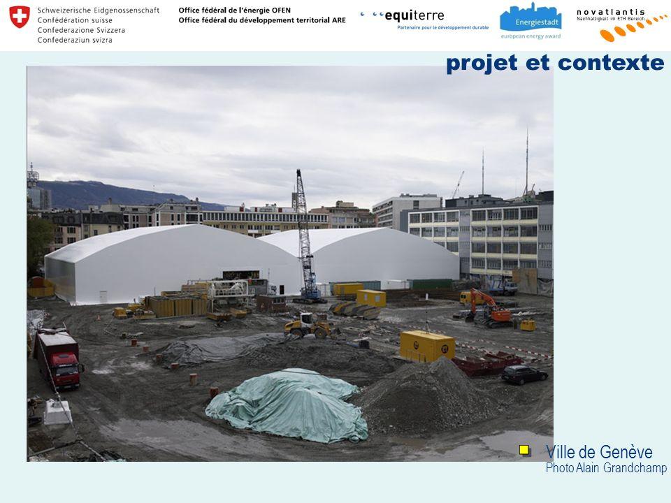 projet et contexte Ville de Genève Photo Alain Grandchamp
