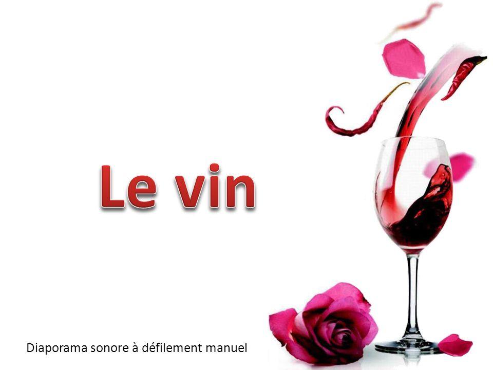 Le vin Diaporama sonore à défilement manuel