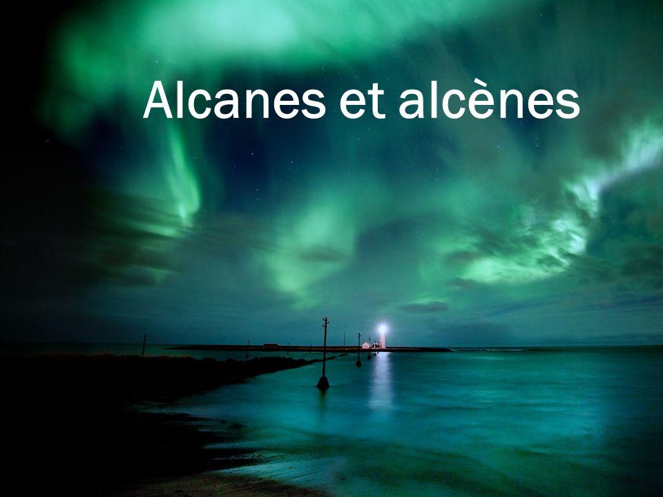 Alcanes et alcènes