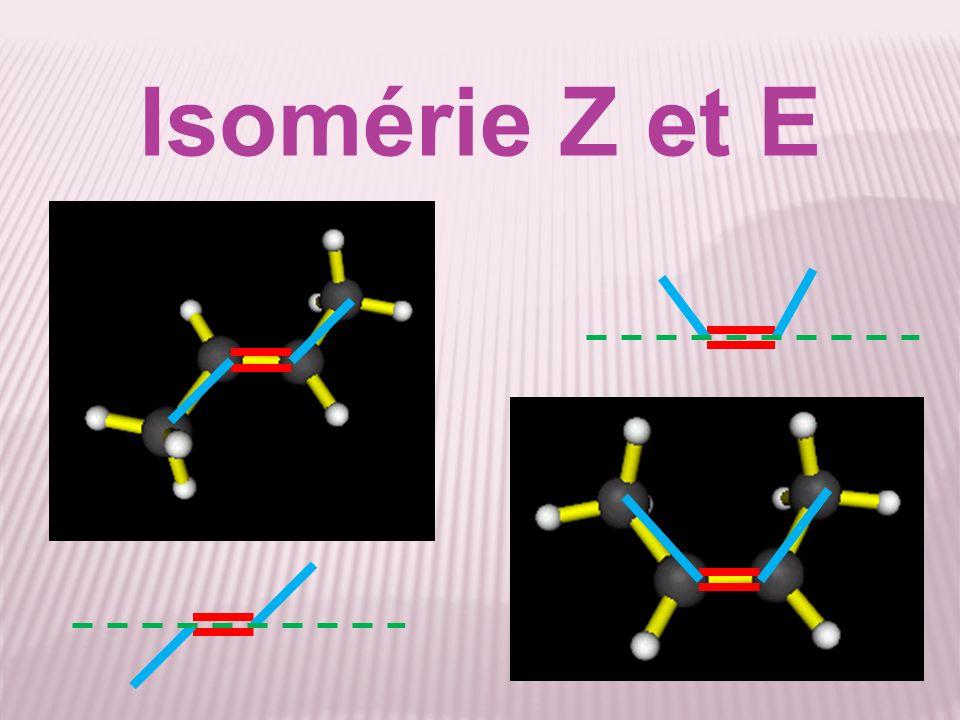 Isomérie Z et E