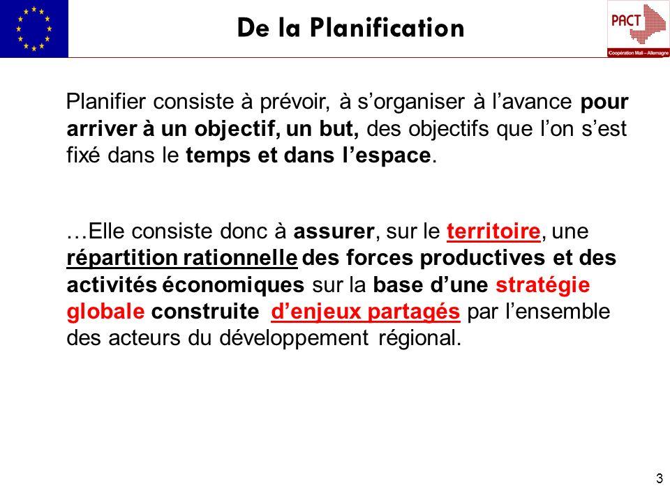 De la Planification