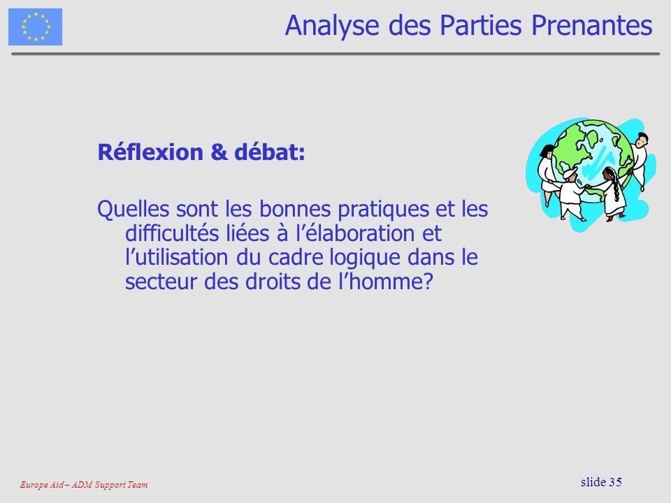 Analyse des Parties Prenantes