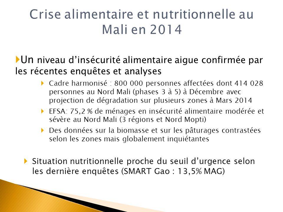 Crise alimentaire et nutritionnelle au Mali en 2014