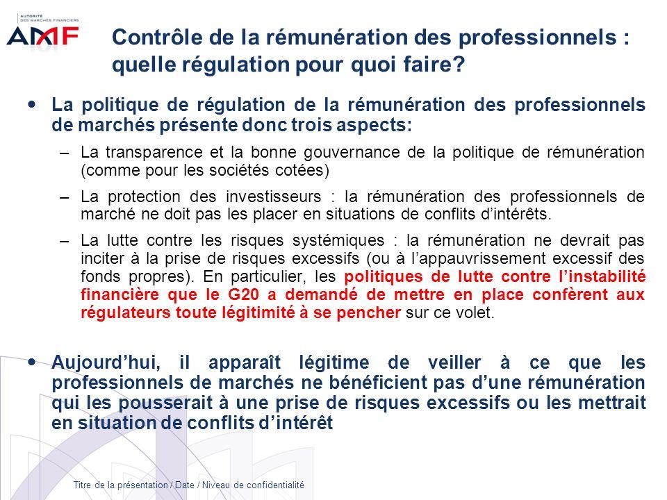 Contrôle de la rémunération des professionnels : quelle régulation pour quoi faire