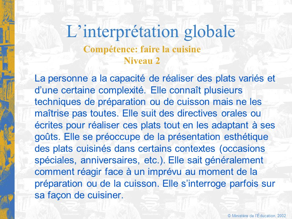L'interprétation globale