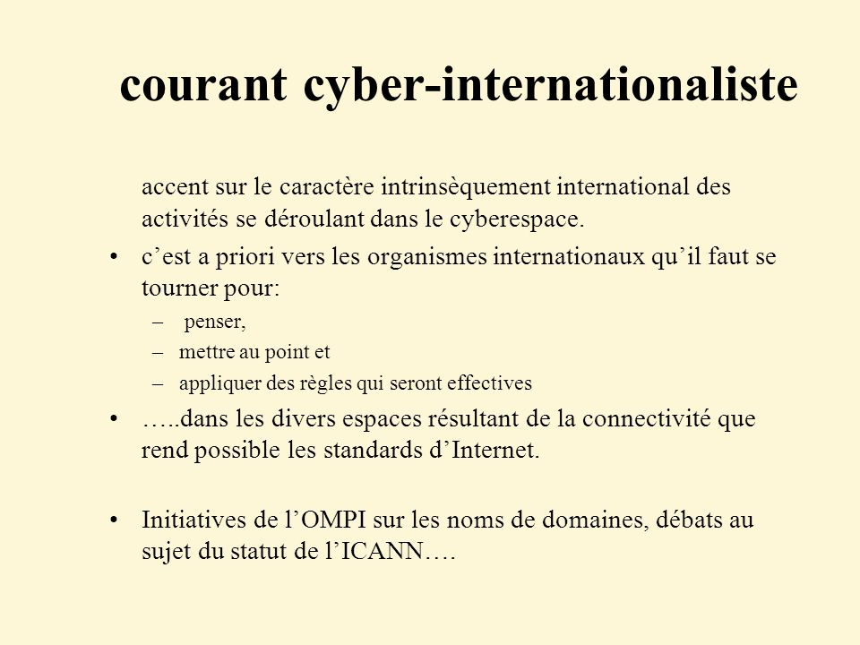 courant cyber-internationaliste