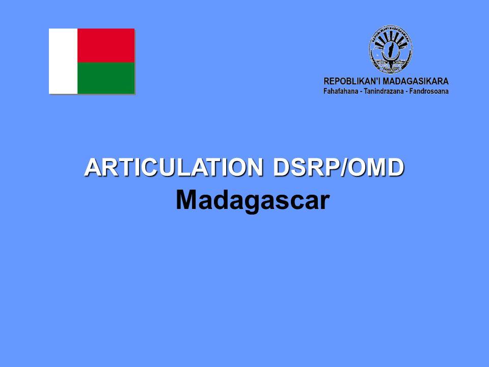ARTICULATION DSRP/OMD