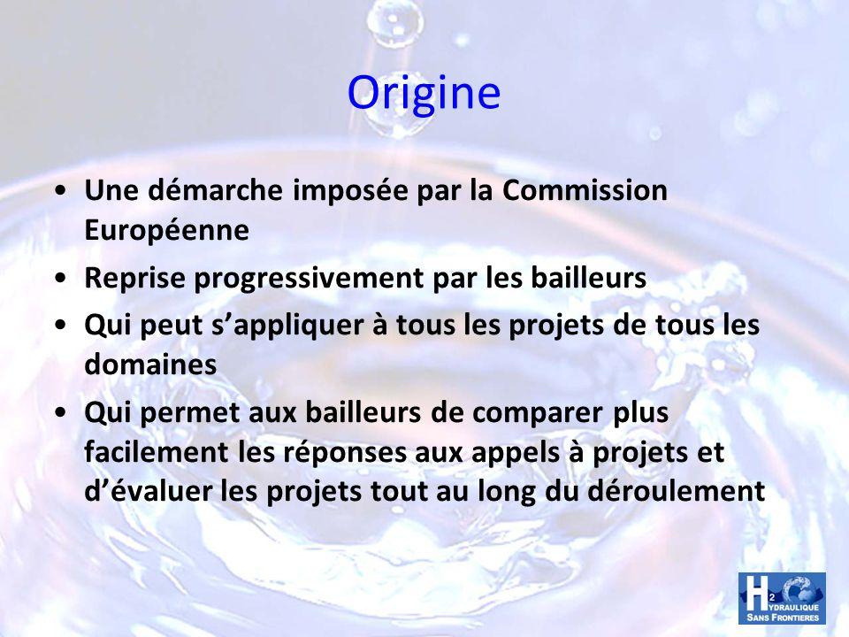 Origine Une démarche imposée par la Commission Européenne