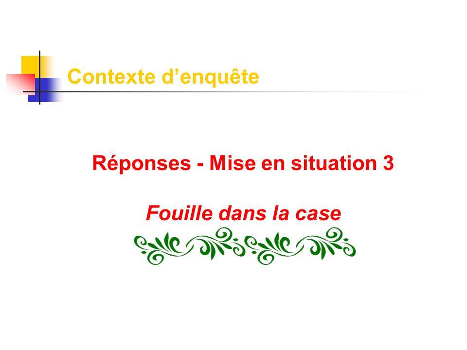 Réponses - Mise en situation 3