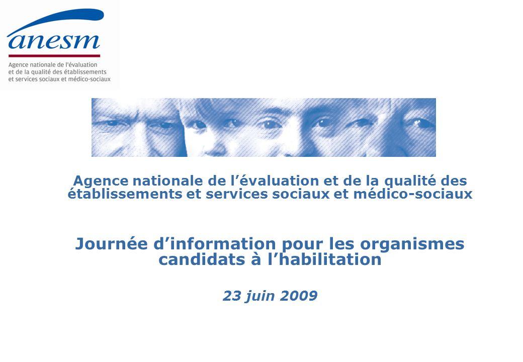 Journée d'information pour les organismes candidats à l'habilitation